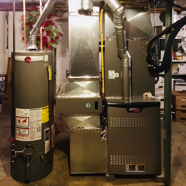 Furnace install after